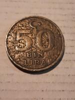 Török 50 Bin Líra 1997