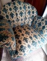 Legyezős antik fotel