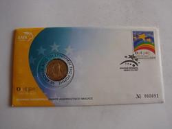 Görög emlék 2 Euro, UNC. 2007.