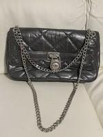 Michael Kors silver leather bag