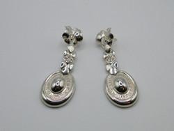 KK1011 Impozáns ezüst fülbevaló szett lepke pillangó 925 fémjelzett