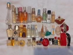 35 db vintage mini (és nagyobb) parfümös üveg FOGLALT!!!