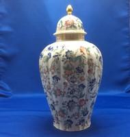 Porcelán fedeles váza