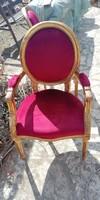 Barokk fotel, karosszék párban, vintage