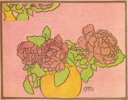 Rippl-Rónai József (1861-1927): Virágtanulmány.