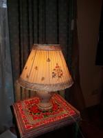 Nanking bouquet mintás Herendi lámpa 1941-ből