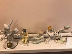 Hollóházi figurák