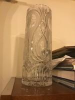 30-32 cm magas kristályváza