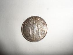 Csehszlovák ezüst 50 Korona (1955 )