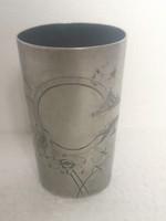 Antik orosz ezüst szecesszió pohár 73gr