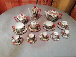 Eladásra kínálok Antik kínai vagy japán porcelán teás, kávés készletet