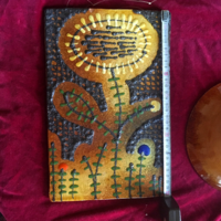 Sarkadi kerámia falikép és falitányér