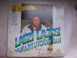 Lagzi Lajcsi hanglemez  Az eredeti borító sérült, a lemez hibátlan