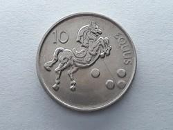 Szlovénia 10 Tolár 2000 - Szlovén 10 tolarjev, tolar 2000 külföldi pénz, érme