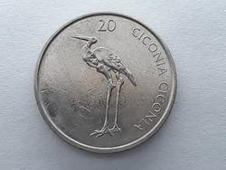 Szlovénia 20 Tolár 2004 - Szlovén 20 tolarjev, tolar 2004 küföldi pénz, érme