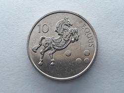 Szlovénia 10 Tolár 2002 - Szlovén 10 tolarjev, tolar 2002 küföldi pénz, érme