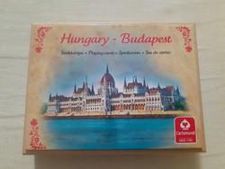 Francia kártya Magyarország leghíresebb épületeivel,építményeivel (2 pakli)