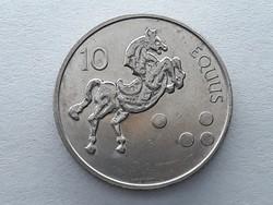 Szlovénia 10 Tolár 2000 - Szlovén 10 tolarjev, tolar 2000 küföldi pénz, érme