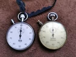 IHM és Hanhart tökéletesen működö zsebstopper órák! IHM PATIKA ÁLLAPOTÚ!