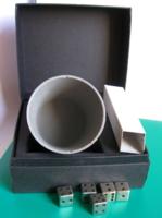 Kockapóker szett – bélelt fém pohárral – dobozában
