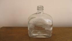 Régi  ,öntött , pincetok  üveg.