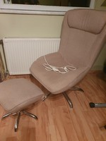 Termo funkciós relax fotel lábtartóval
