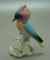 B346 Ens Volkstedt porcelán madár - csőre vége lepattanva