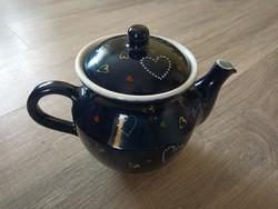 Hódmezővásárhelyi kerámia tea kanna gyűjtemény felszámolásból