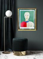 Kazimir Malevich litográfia / Paris Morlot 1980 /
