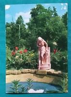 Balatoni képeslap,Balatonboglár,Park 1976