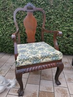 Régi karos szék