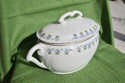 Porcelán levesestál