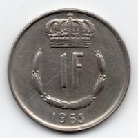 Luxemburg 1 Frank, 1965