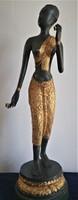 Indiai réz szobor