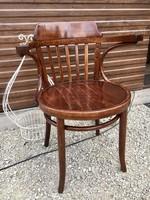 Thonet,thonett,tonet szék, íróasztal szék,karosszék  nagy ülőlapos 50 cm!