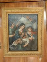 Barokk témájú festmény eladó.