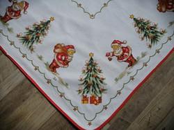 Karácsonyi 100 % pamutvászon terítő 80 x 80