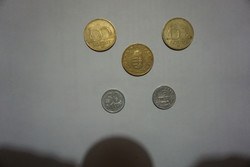 Magyar forint régi pénzérmék eladók.