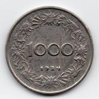 Ausztria 1000 Korona, 1924