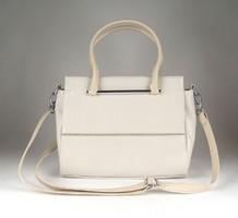 1D556 Fehér színű KAREN COLLECTION női bőr táska kézitáska