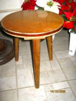 Mid century virágtartó asztal