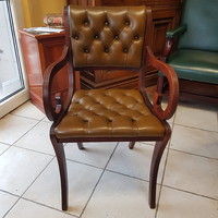 Angol  chesterfield  Beresford and Hicks gyártású szék
