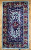 Kék tónusú régi kézi perzsa szőnyeg