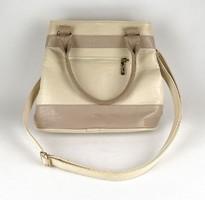1D557 Világos színű KAREN COLLECTION női bőr táska kézitáska