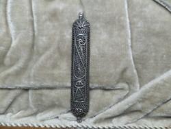 Ezüst filigrán mezüze
