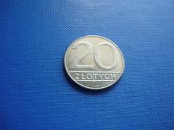 LENGYELORSZÁG 20 ZLOTY 1990!