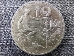 Csehszlovákia .700 ezüst 10 Korona 1930 (id46757)
