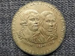 Franciaország A francia forradalom kétszázadik évfordulója Danton, Desmoulins 1989 (id45828)