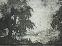 Istókovits Kálmán (1898 – 1990) - Újpesti öböl