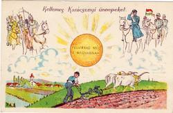 Felvirrad még a magyarnak! Horthy Miklós, karácsonyi üdvözlet